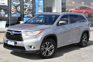 2015 Toyota Kluger GSU50R GXL 2WD Silver 6 Speed Sports Automatic Wagon.