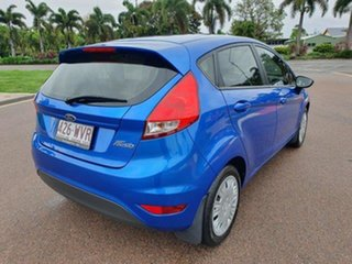 2016 Ford Fiesta WZ Ambiente PwrShift Winning Blue 6 Speed Sports Automatic Dual Clutch Hatchback.