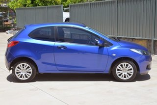 2008 Mazda 2 DE10Y1 Neo Blue 4 Speed Automatic Hatchback.