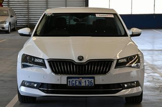 2016 Skoda Superb NP MY17 162 TSI White 6 Speed Direct Shift Sedan