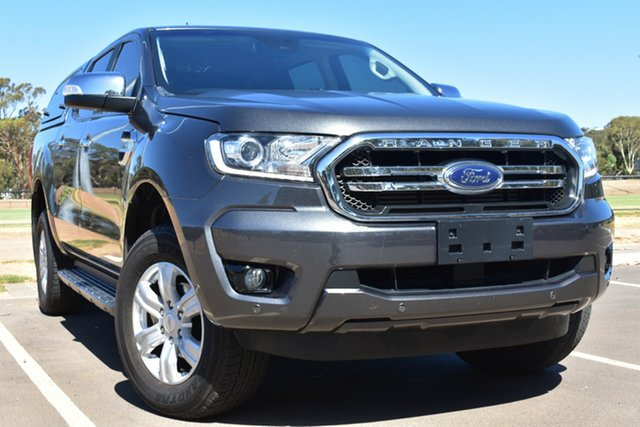 Used Ford Ranger PX MkII 2018.00MY XLT Double Cab St Marys, 2018 Ford Ranger PX MkII 2018.00MY XLT Double Cab Grey 6 Speed Sports Automatic Utility