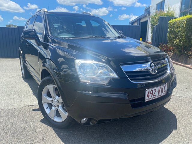 Used Holden Captiva CG Maxx AWD Slacks Creek, 2007 Holden Captiva CG Maxx AWD Black 5 Speed Sports Automatic Wagon