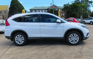 2014 Honda CR-V VTi White Automatic Wagon.