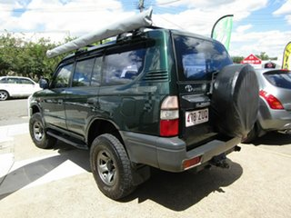 1998 Toyota Landcruiser Prado VZJ95R RV6 Green 5 Speed Manual Wagon.