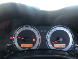 2011 Toyota Corolla ZRE152R MY11 Ascent Silver 6 Speed Manual Sedan
