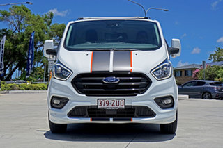 2020 Ford Transit Custom VN 2019.75MY 320S (Low Roof) Sport White 6 Speed Automatic Van.