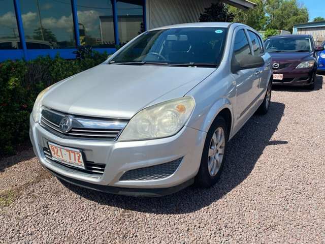 Used Holden Astra AH MY08 CD Berrimah, 2008 Holden Astra AH MY08 CD Silver 4 Speed Automatic Hatchback