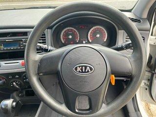 2010 Kia Rio JB MY10 S White 4 Speed Automatic Hatchback