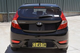 2015 Hyundai Accent RB2 MY15 Active Black 4 Speed Sports Automatic Hatchback