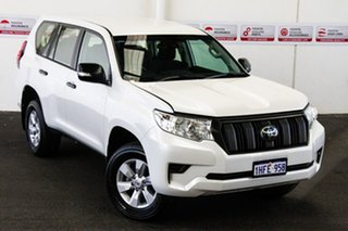 2019 Toyota Landcruiser Prado GDJ150R GX Crystal Pearl 6 Speed Sports Automatic Wagon.