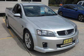 2009 Holden Ute VE MY09.5 SV6 Silver 6 Speed Manual Utility.