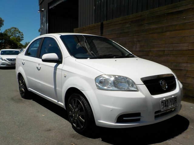 Used Holden Barina TK MY07 Labrador, 2007 Holden Barina TK MY07 White 4 Speed Automatic Sedan