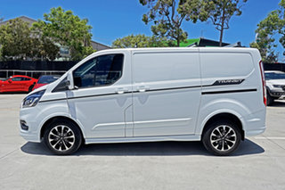 2020 Ford Transit Custom VN 2019.75MY 320S (Low Roof) Sport White 6 Speed Automatic Van