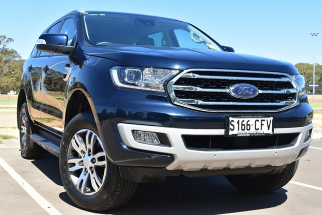 Used Ford Everest UA II 2020.25MY Trend St Marys, 2020 Ford Everest UA II 2020.25MY Trend Blue 6 Speed Sports Automatic SUV