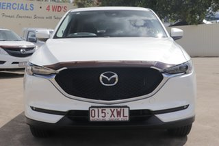 2017 Mazda CX-5 KF4WLA GT SKYACTIV-Drive i-ACTIV AWD Snowflake White 6 Speed Sports Automatic Wagon