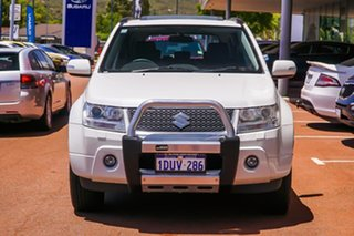2011 Suzuki Grand Vitara JB MY09 Prestige White 5 Speed Automatic Wagon