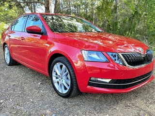 2019 Skoda Octavia NE MY19 110TSI Sedan DSG Corrida Red 7 Speed Sports Automatic Dual Clutch.