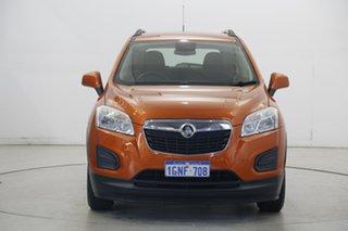2016 Holden Trax TJ MY16 LS Orange 5 Speed Manual Wagon.