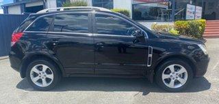 2007 Holden Captiva CG Maxx AWD Black 5 Speed Sports Automatic Wagon.