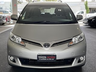 2017 Toyota Tarago ACR50R GLX Silver 7 Speed Constant Variable Wagon.