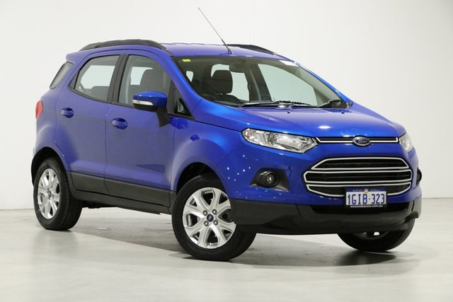 Used Ford Ecosport BK Trend Bentley, 2017 Ford Ecosport BK Trend Blue 6 Speed Automatic Wagon