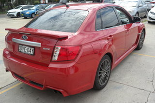 2011 Subaru Impreza G3 MY11 WRX AWD Red 5 Speed Manual Sedan