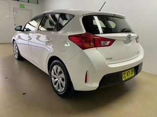 2015 Toyota Corolla ZRE182R Ascent White 7 Speed CVT Auto Sequential Hatchback