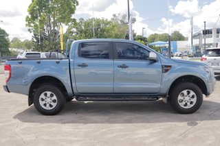 2014 Ford Ranger PX XLS Double Cab Blue 6 Speed Sports Automatic Utility.