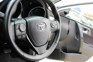 2016 Toyota Corolla ZWE186R Hybrid E-CVT White 1 Speed Constant Variable Hatchback Hybrid