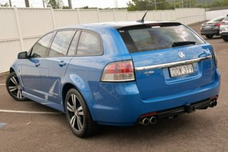 2015 Holden Commodore VF MY15 SV6 Sportwagon Storm Blue 6 Speed Sports Automatic Wagon.