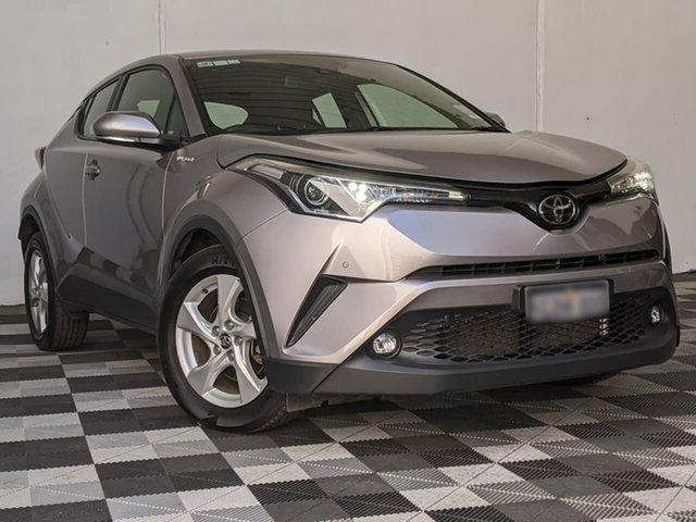 Used Toyota C-HR NGX10R S-CVT 2WD Victoria Park, 2018 Toyota C-HR NGX10R S-CVT 2WD Silver 7 Speed Constant Variable Wagon