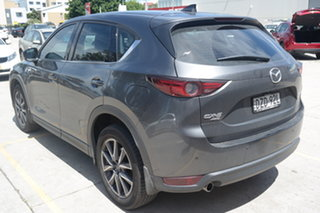 2018 Mazda CX-5 KF4WLA GT SKYACTIV-Drive i-ACTIV AWD Machine Grey 6 Speed Sports Automatic Wagon