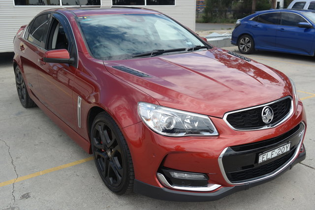 Used Holden Commodore VF II MY16 SS V Redline Maryville, 2016 Holden Commodore VF II MY16 SS V Redline Red 6 Speed Sports Automatic Sedan