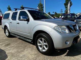 2012 Nissan Navara D40 S5 MY12 ST-X 550 Silver 7 Speed Sports Automatic Utility.
