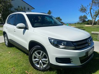 2013 Volkswagen Tiguan 5N MY13.5 118TSI 2WD White 6 Speed Manual Wagon.