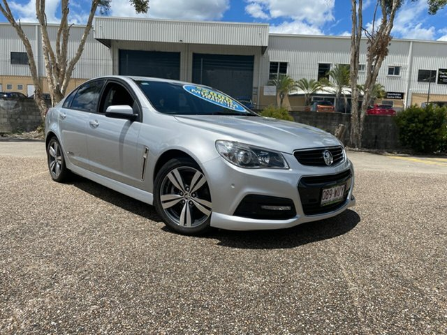 Used Holden Commodore VF MY15 SS Underwood, 2014 Holden Commodore VF MY15 SS Silver 6 Speed Automatic Sedan