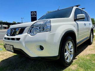 2013 Nissan X-Trail T31 Series V ST White 1 Speed Constant Variable Wagon