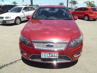 2011 Ford Falcon FG G6E Red 6 Speed Sports Automatic Sedan.
