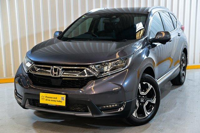 Used Honda CR-V RW MY18 VTi-LX 4WD Hendra, 2017 Honda CR-V RW MY18 VTi-LX 4WD Grey 1 Speed Constant Variable Wagon