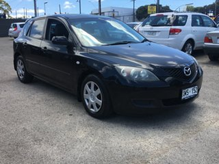 2007 Mazda 3 BK10F2 Neo Black 5 Speed Manual Hatchback.