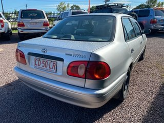 2001 Toyota Corolla AE112R Ascent Silver 4 Speed Automatic Sedan