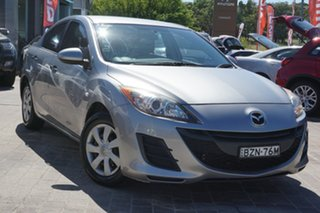2011 Mazda 3 BL10F1 MY10 Neo Activematic Silver 5 Speed Sports Automatic Hatchback.
