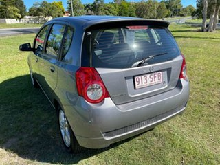 2012 Holden Barina TK MY11 Silver 4 Speed Automatic Hatchback