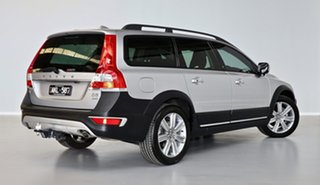 2016 Volvo XC70 BZ MY16 D5 Geartronic AWD Luxury Silver 6 Speed Sports Automatic Wagon.