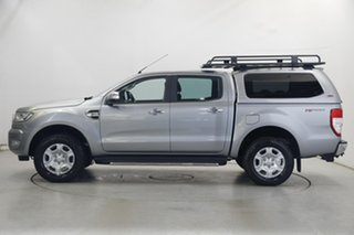2016 Ford Ranger PX MkII XLT Double Cab 4x2 Hi-Rider Silver 6 Speed Manual Utility.