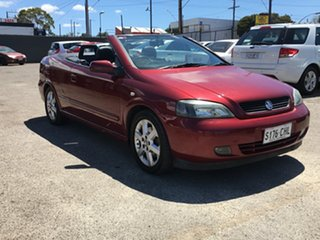 2003 Holden Astra TS MY03 5 Speed Manual Convertible.