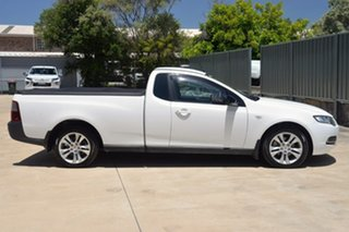 2012 Ford Falcon FG MkII EcoLPi Ute Super Cab White 6 Speed Sports Automatic Utility.