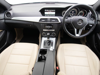 2014 Mercedes-Benz C250 W204 MY14 CDI Black 7 Speed Automatic G-Tronic Coupe