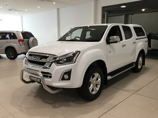 2017 Isuzu D-MAX MY17 LS-U Crew Cab White 6 Speed Sports Automatic Utility