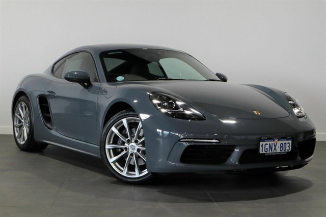 Used Porsche 718 982 MY18 Cayman PDK Bayswater, 2018 Porsche 718 982 MY18 Cayman PDK Blue 7 Speed Sports Automatic Dual Clutch Coupe